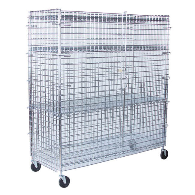 "StoreIt 10006 60"" Mobile Security Cage, 24""D"