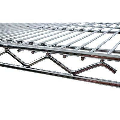 """StoreIt 12442 Chrome Wire Shelf - 42""""W x 24""""D"""