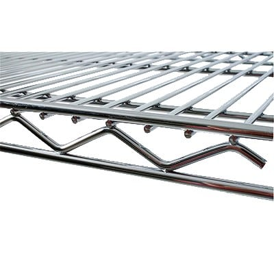 "StoreIt 12472 Chrome Wire Shelf - 72"" x 24"""