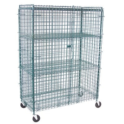 "StoreIt 20007 72"" Mobile Security Cage, 24""D"