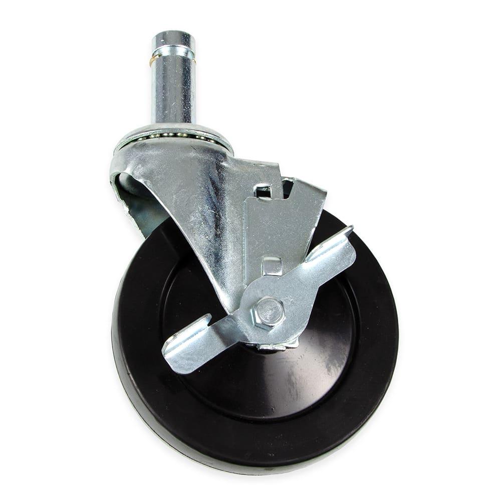 """StoreIt SI-SC-5-BRK 5"""" Swivel Caster w/ Brake for Shelving Units"""