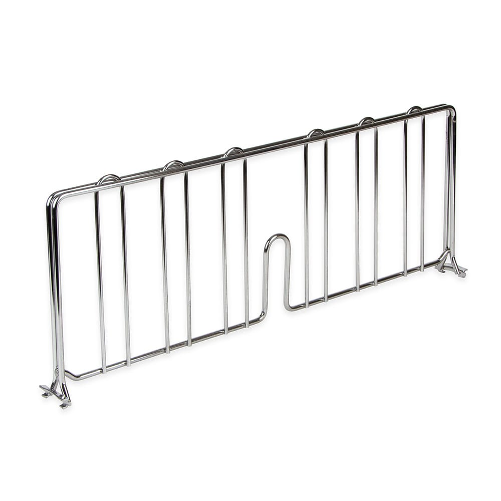 "StoreIt SI-SD-2408-CH Wire Shelf Divider - 24"" x 8"", Chrome"
