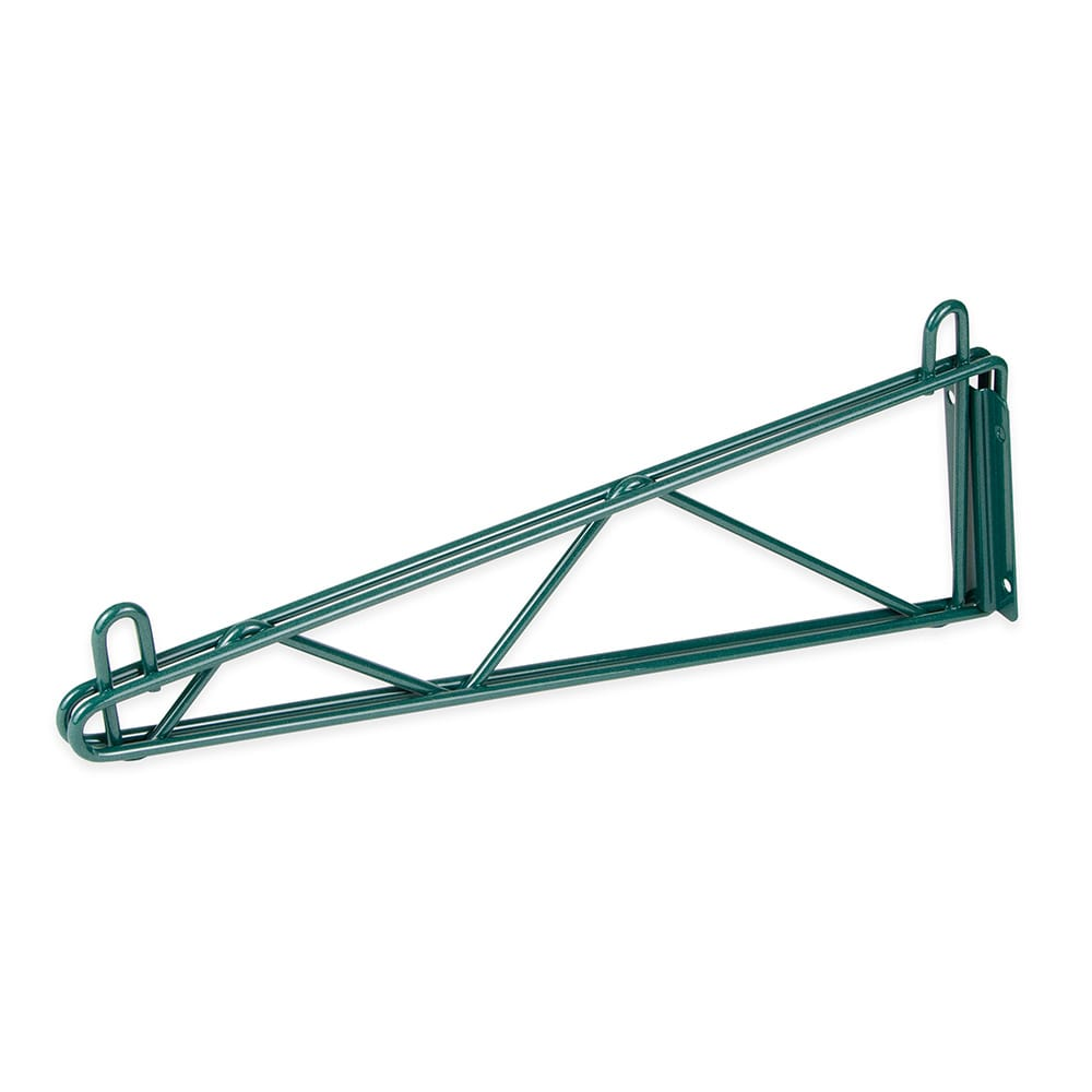 "StoreIt SI-SS-14SGL-GE 14"" Wire Wall-Mount Shelf Bracket, Epoxy Coated"