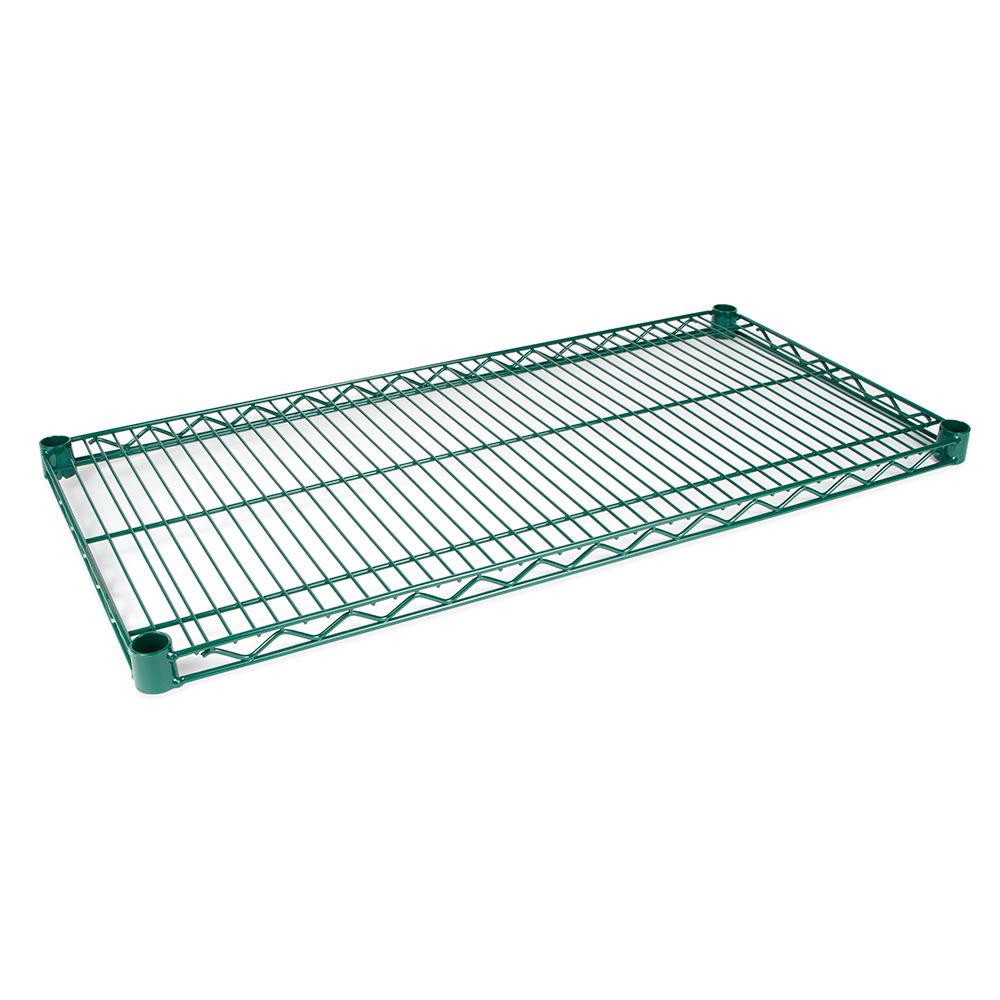 """StoreIt SI-WS-1824-GE Epoxy Coated Wire Shelf - 24""""W x 18""""D"""
