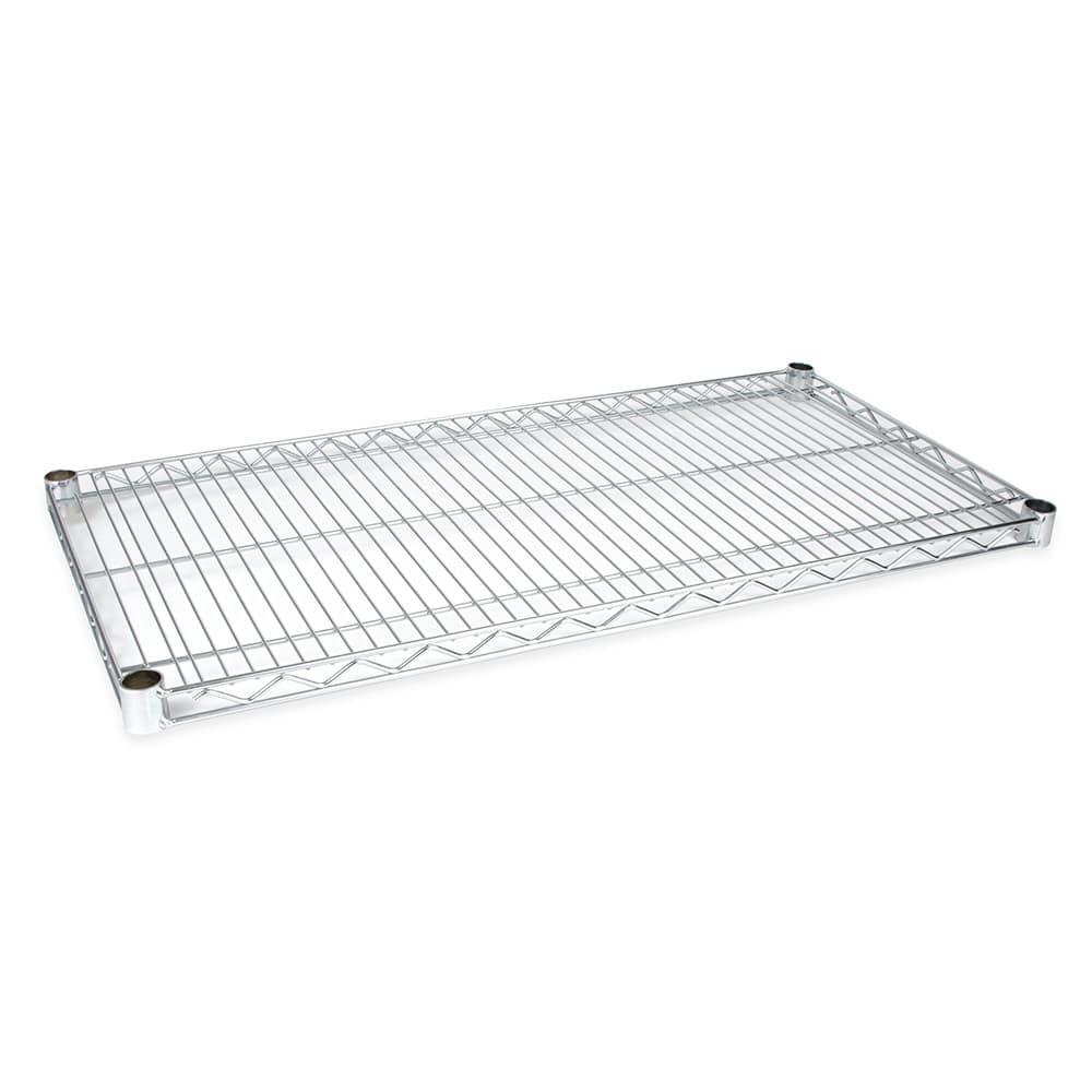 "StoreIt SI-WS-2436-CP Chrome Wire Shelf - 36""W x 24""D"