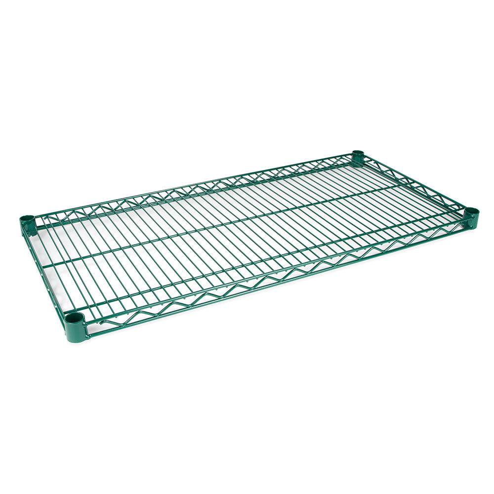 "StoreIt SI-WS-2436-GE Epoxy Coated Wire Shelf - 36""W x 24""D"