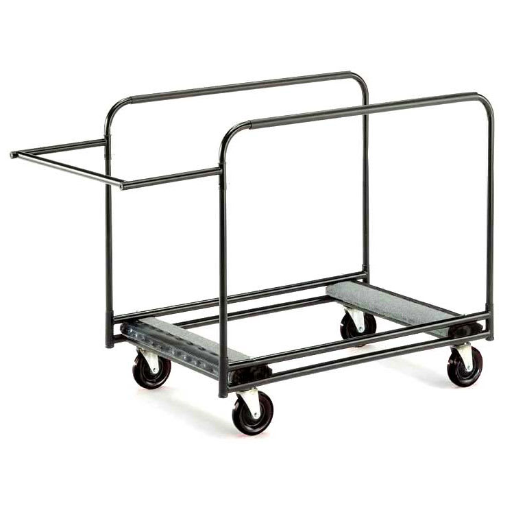 "Midwest Folding Products HRTC Table Truck w/ (8) 48"" to 72"" Round Table Capacity, Steel"
