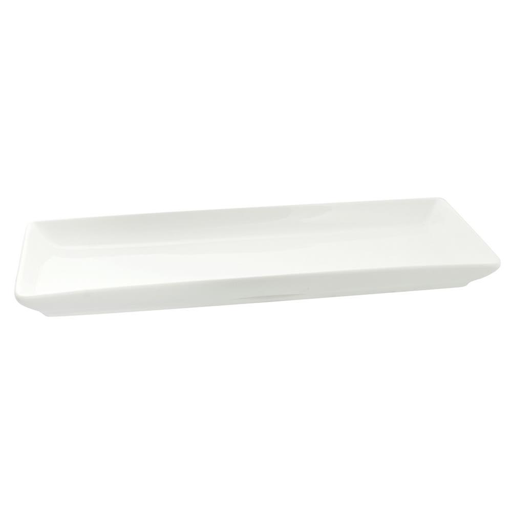10 Strawberry Street Wtr 10cprec Rectangular Whittier Platter 10 1 8 X 4 1 2 Porcelain White