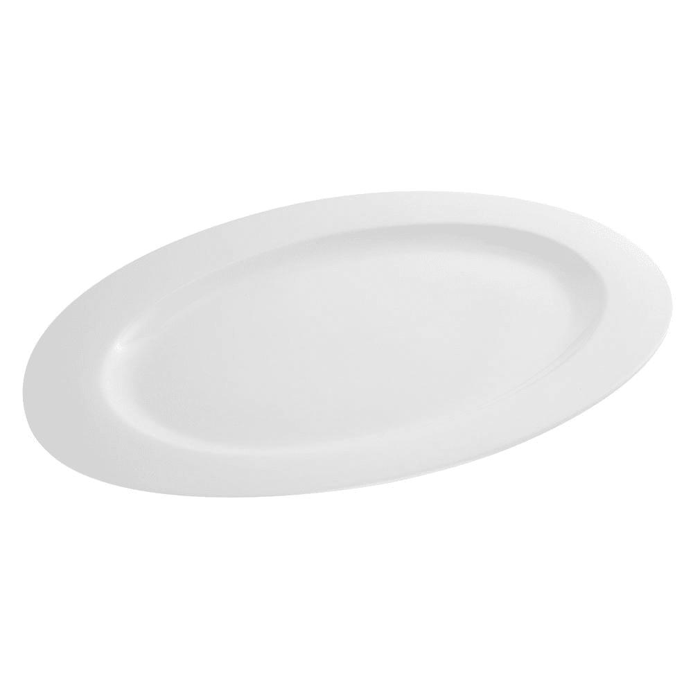 10 Strawberry Street Wtr 18ov Oval Whittier Platter 18 1 4 X 12 3 4 Porcelain White