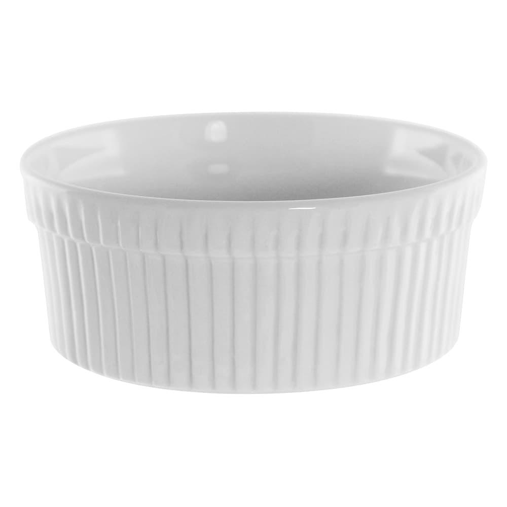 10 Strawberry Street WTR-5SUF 12 oz Ramekin - Porcelain, White