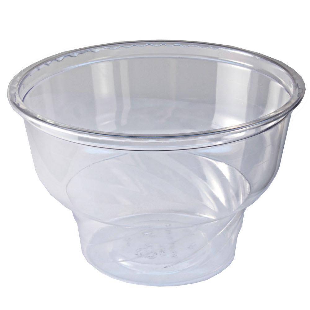 Fabri-Kal DE8 8-oz Indulge™ Dessert Container - Plastic, Clear