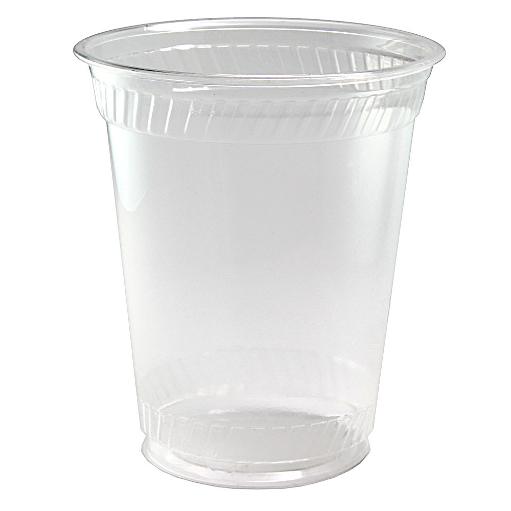 Fabri-Kal GC10 10 oz Greenware® Cold Drink Cup - Plastic, Clear