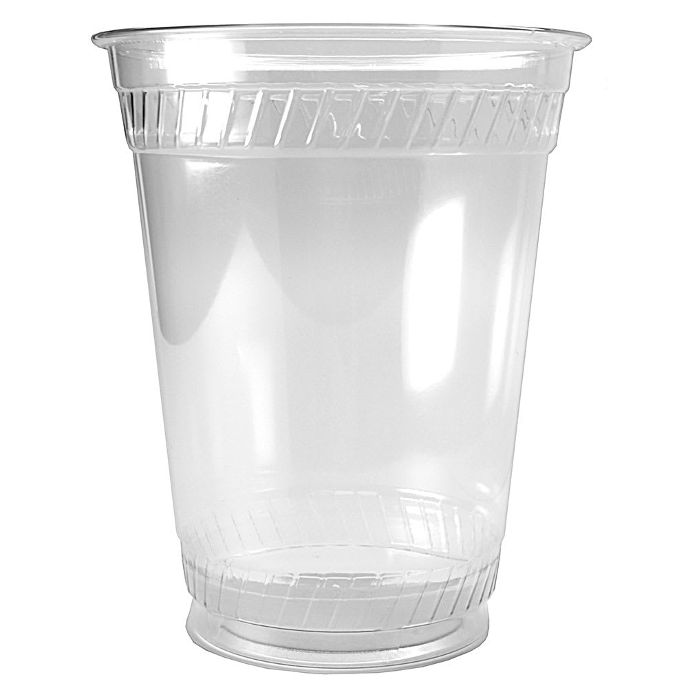 Fabri-Kal GC16S 16 oz Greenware® Cold Drink Cup - Plastic, Clear