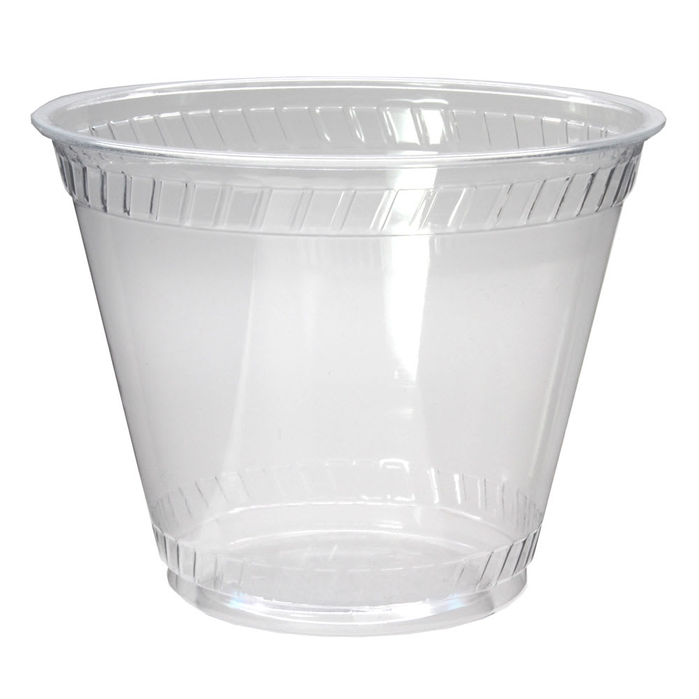 Fabri-Kal GC9OF 9 oz Greenware® Cold Drink Cup - Plastic, Clear