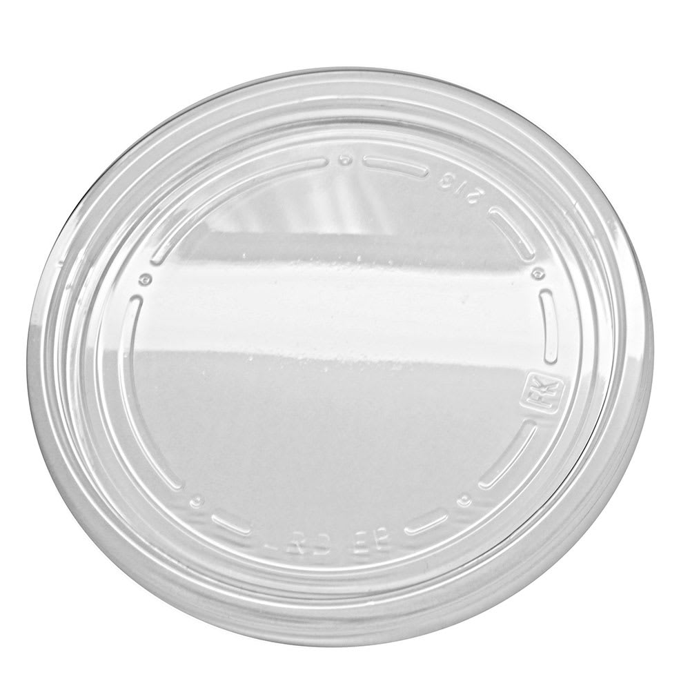 Fabri-Kal LRD Lid for RD8, RD12, RD16, RD24, & RD32 Alur™ Round Containers - Plastic, Clear