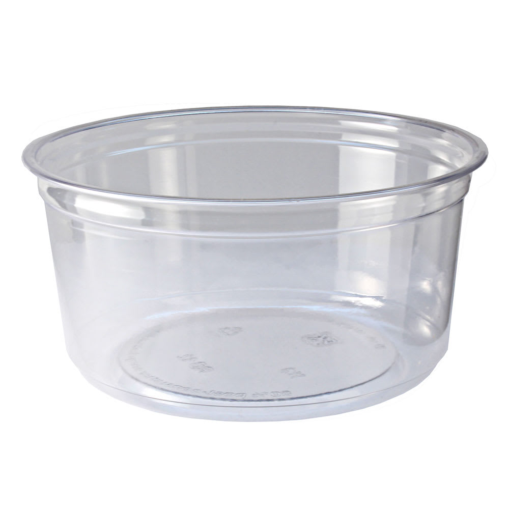 Fabri-Kal RD12 12-oz Alur™ Round Container - Plastic, Clear