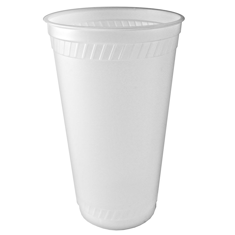 Fabri-Kal RK32 32 oz RK Drink Cup - Plastic, Clear
