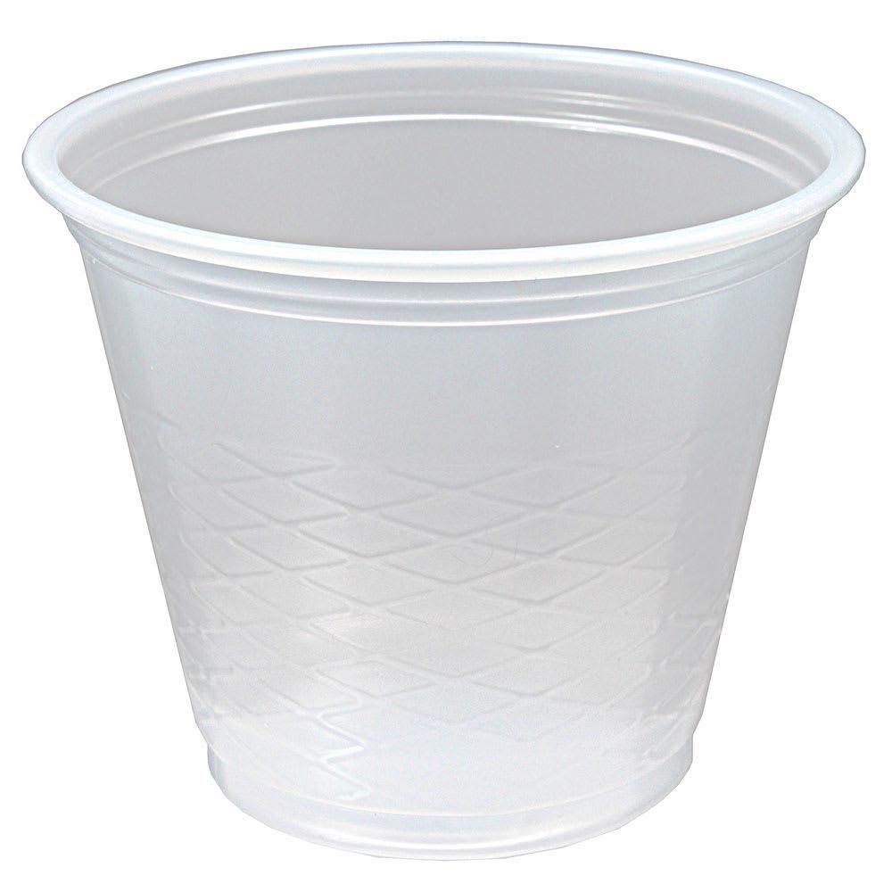 Fabri-Kal RK3.5 3.5-oz RK Drink Cup - Plastic, Clear