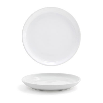 """Front of the House DAP043WHP23 5.5"""" Round Harmony™ Plate - Porcelain, White"""