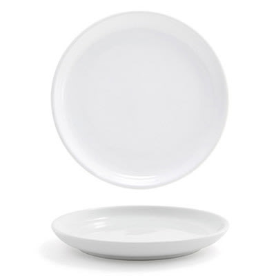 """Front of the House DAP056WHP23 6.25"""" Round Harmony™ Plate - Porcelain, White"""