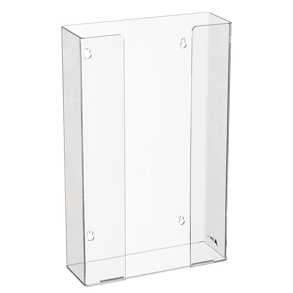 Alpine Industries 902-03 Wall-Mount Glove Dispenser w/ (3) Box Capacity - Acrylic, Clear