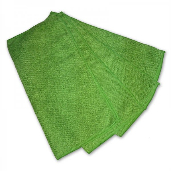 "Clean Up 250-MP12GN-500 Multi-Purpose Towel - 12"" x 12"", Green"