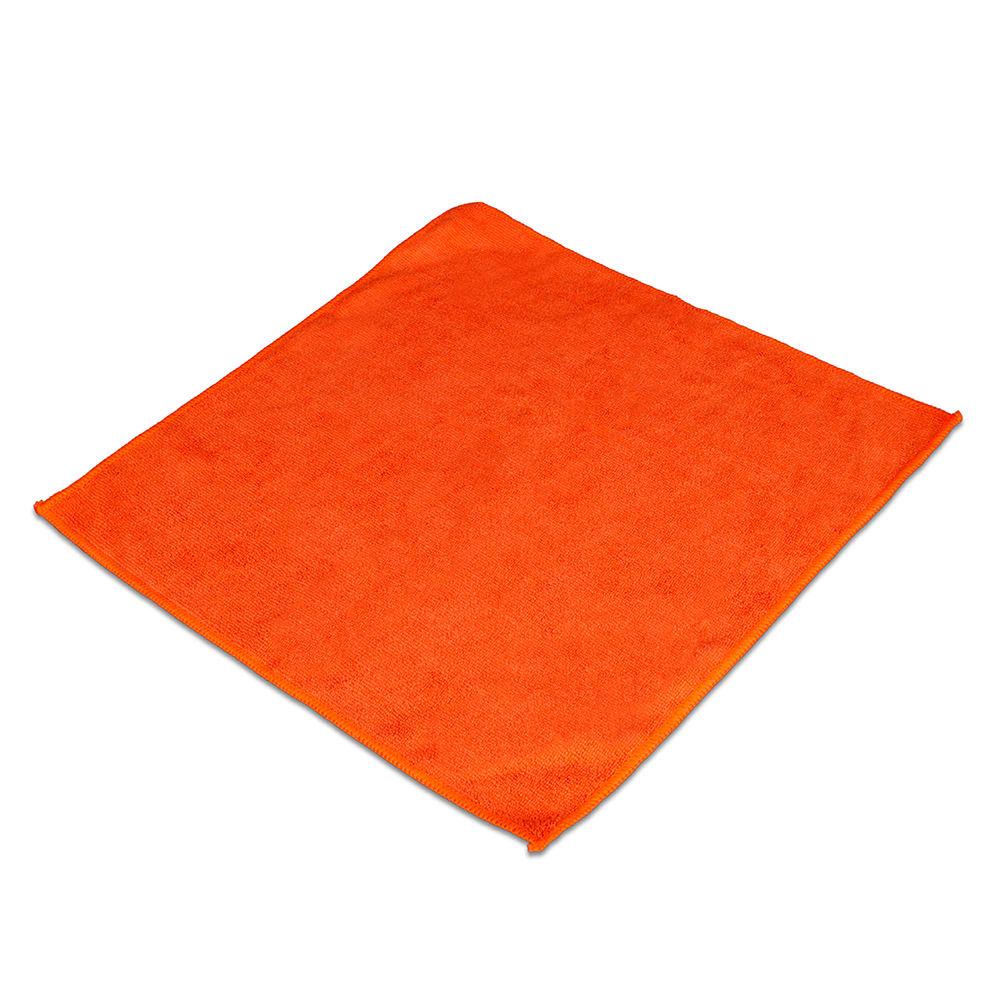 """Clean Up MFMP12OR 12"""" Square Multi-Purpose Towel - Microfiber, Orange"""