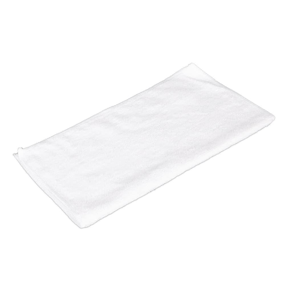 "Clean Up MFMP12WH 12"" Square Multi-Purpose Towel - Microfiber, White"