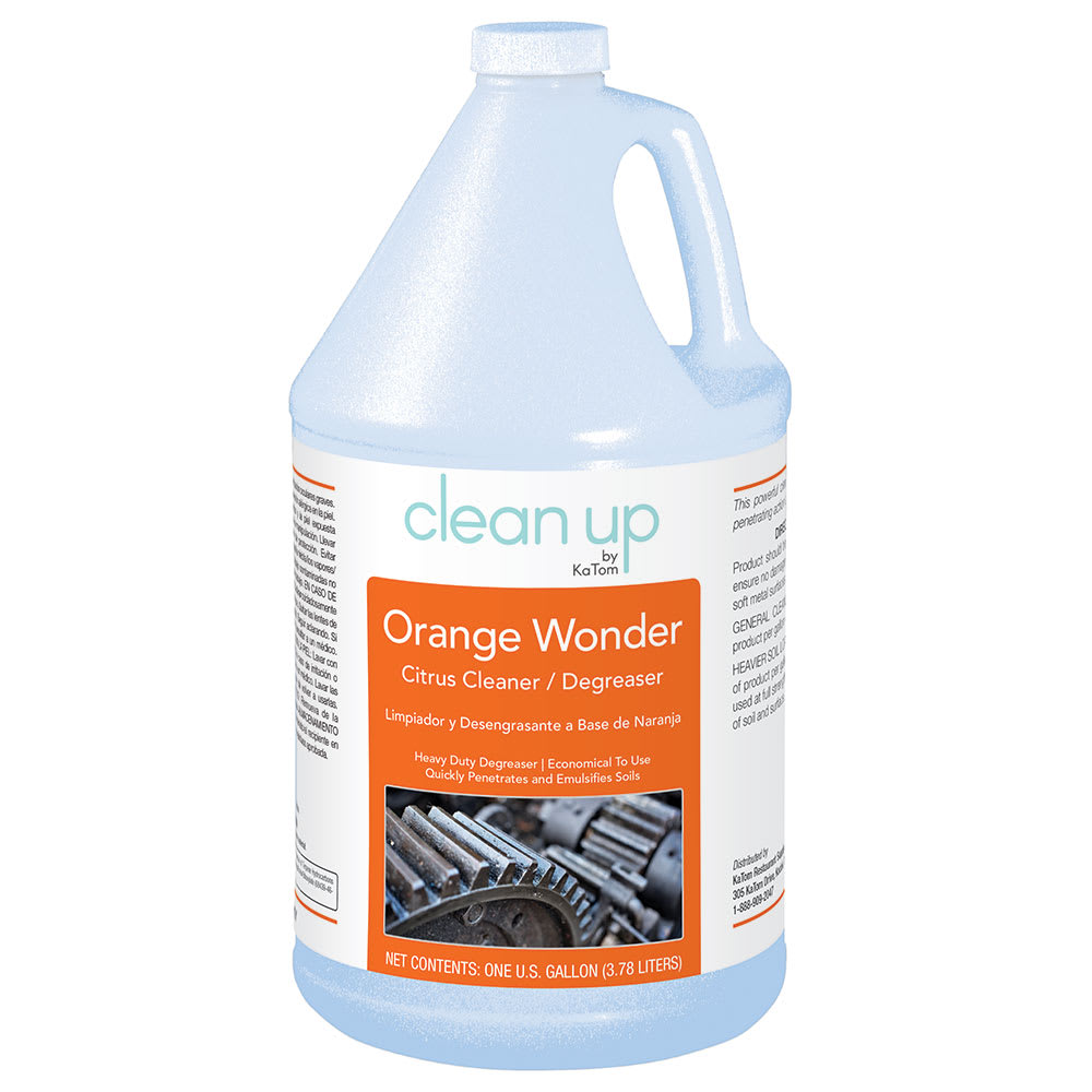 Clean Up by KaTom ORANGE 1-gal Orange Wonder Citrus Cleaner/Degreaser, Citrus Scent