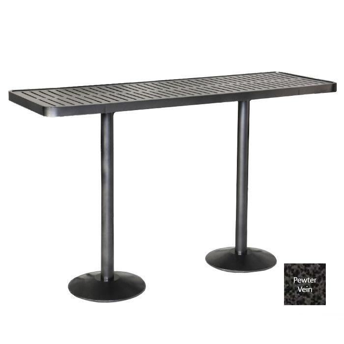 Wabash Valley HAA5D9P PV 4' Portable Community Table w/ Powder Coat, Slat
