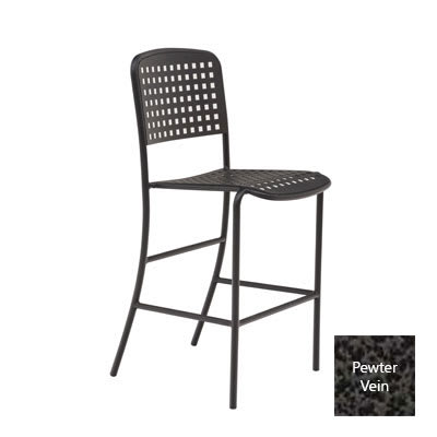 Wabash Valley HAB121P PV Bar Chair w/ Powder Coat, Aluminum
