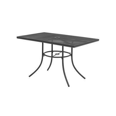 "Wabash Valley SU2038P TB Portable Rectangular Table w/ Powder Coating, 30"" x 24"", Mesh"