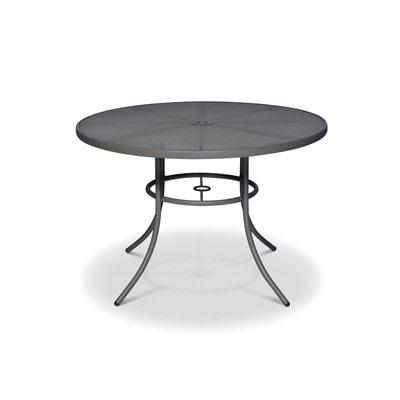 "Wabash Valley SU2H38P TB 42"" Round Portable Table w/ Powder Coating, Mesh"