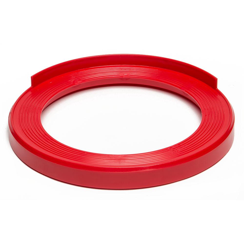 """Devault Enterprises ICD-2000 16.25"""" Keg Stacker for Full and Half-Size Kegs - Plastic, Red"""