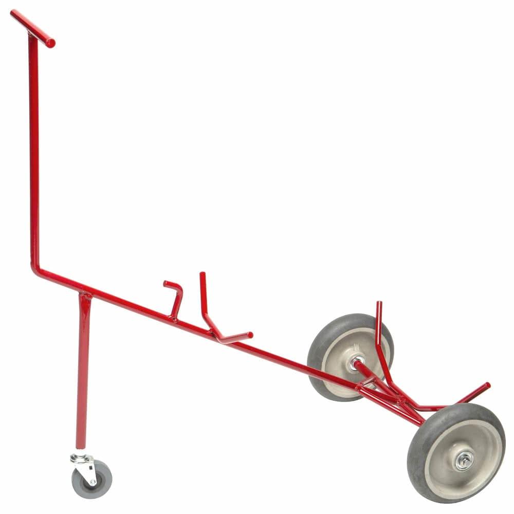 Devault Enterprises ICD-5000 3 Wheel Keg Caddy - Metal, Red