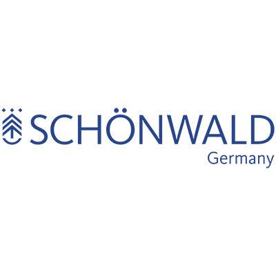 """Schonwald 701122091000593 7.87"""" Round Plate - Stoneware, Playground, Lava"""