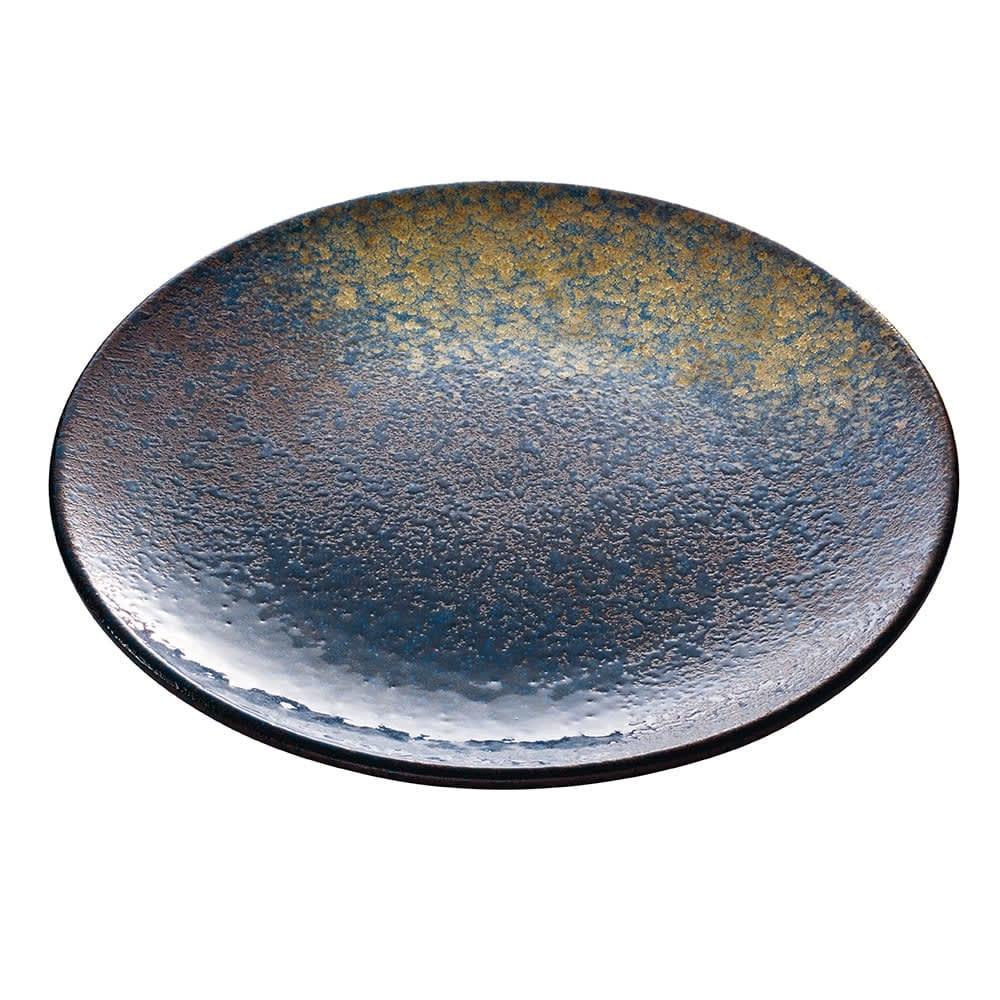 """Schonwald 701122391000351 9.12"""" Round Plate - Stoneware, Playground, Sea"""