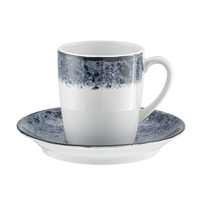"""Schonwald 9016919-63076 5.5"""" Shabby Chic Saucer - Porcelain, Blue Stone"""
