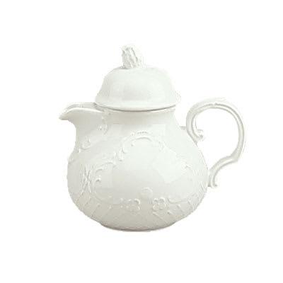 Schonwald 9064365 22 oz Teapot - Porcelain, Marquis, Continental White