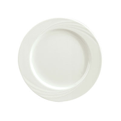 "Schonwald 9180031 12.25"" Porcelain Plate - Donna Pattern, White"