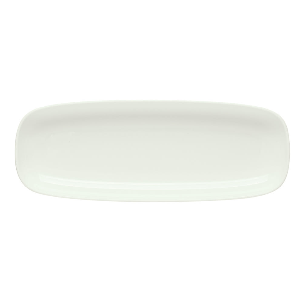 "Schonwald 9216225 Rectangular Islands Dish - 9.63"" x 3.5"", Porcelain, Bone White"
