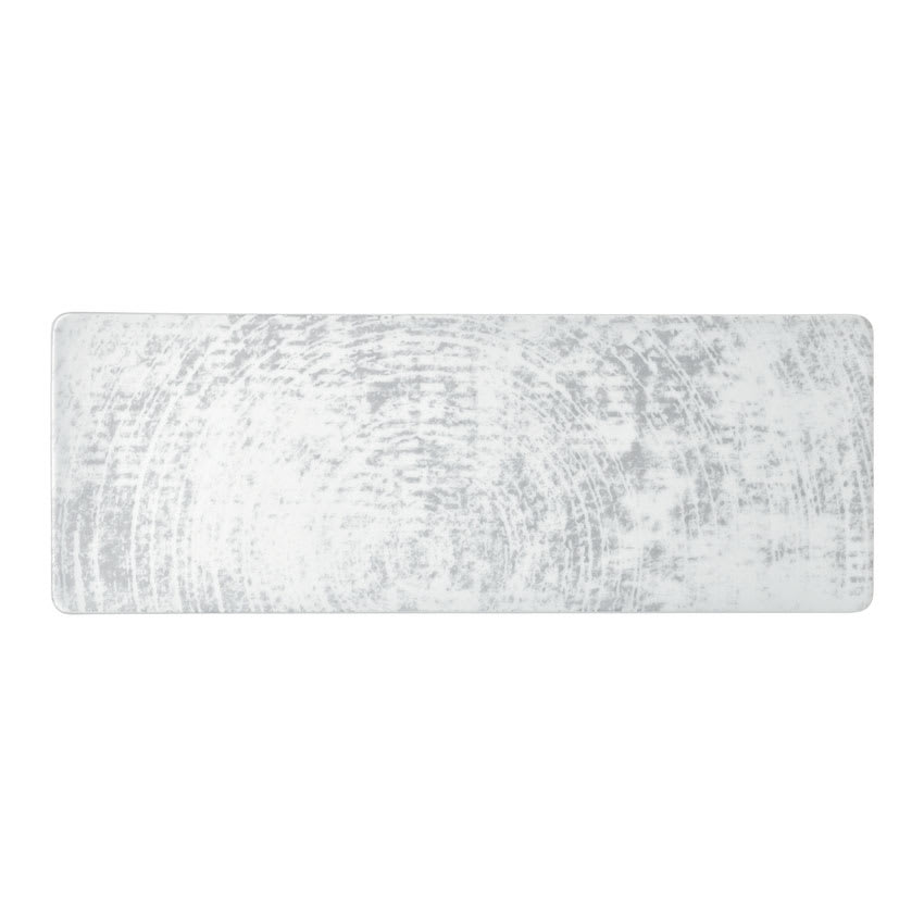 "Schonwald 9332630-63070 Oblong Shabby Chic Platter - 11.75"" x 4.25"", Porcelain, Structure Gray"