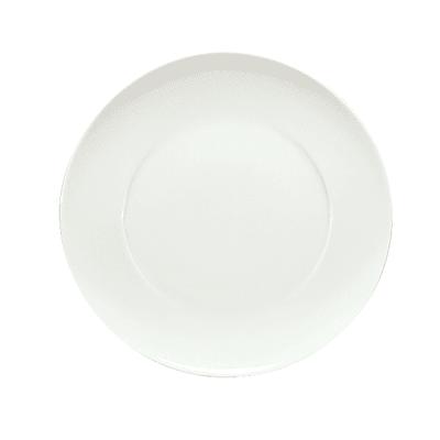 "Schonwald 9391216 6.375"" Round Plate, Porcelain, Schonwald, Continental White"