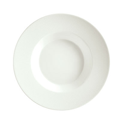 Schonwald 9400128-62987 16 oz Porcelain Pasta Bowl - Connect Radial Pattern, White