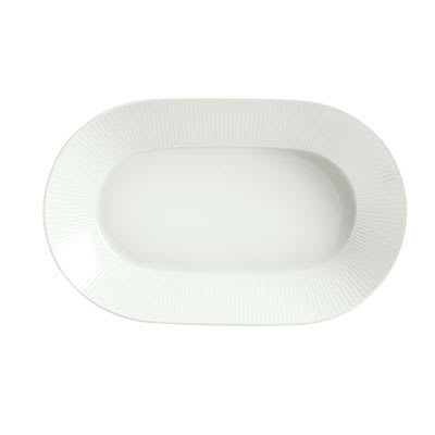 Schonwald 9406225-62987 24-oz Porcelain Bowl - Connect Radial Pattern, White