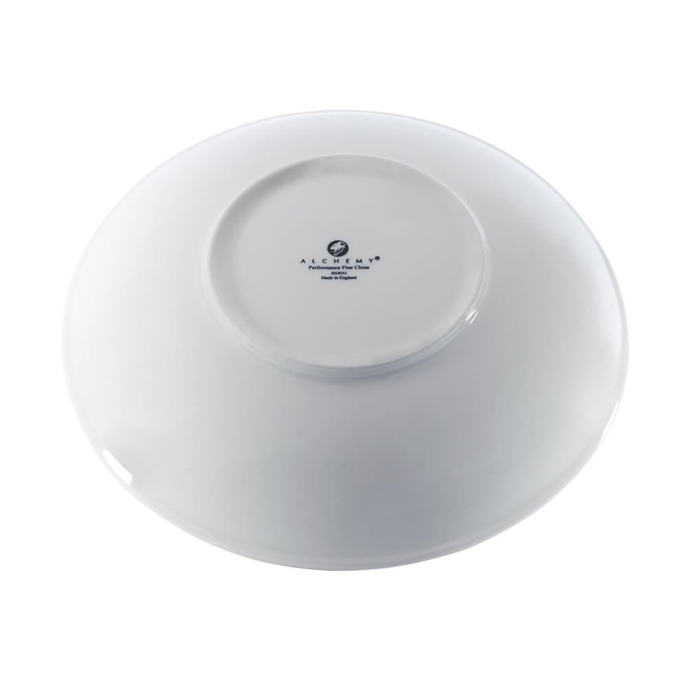 """Churchill APRBAC101 10.5"""" Round Alchemy® Balance Bowl - China, White"""