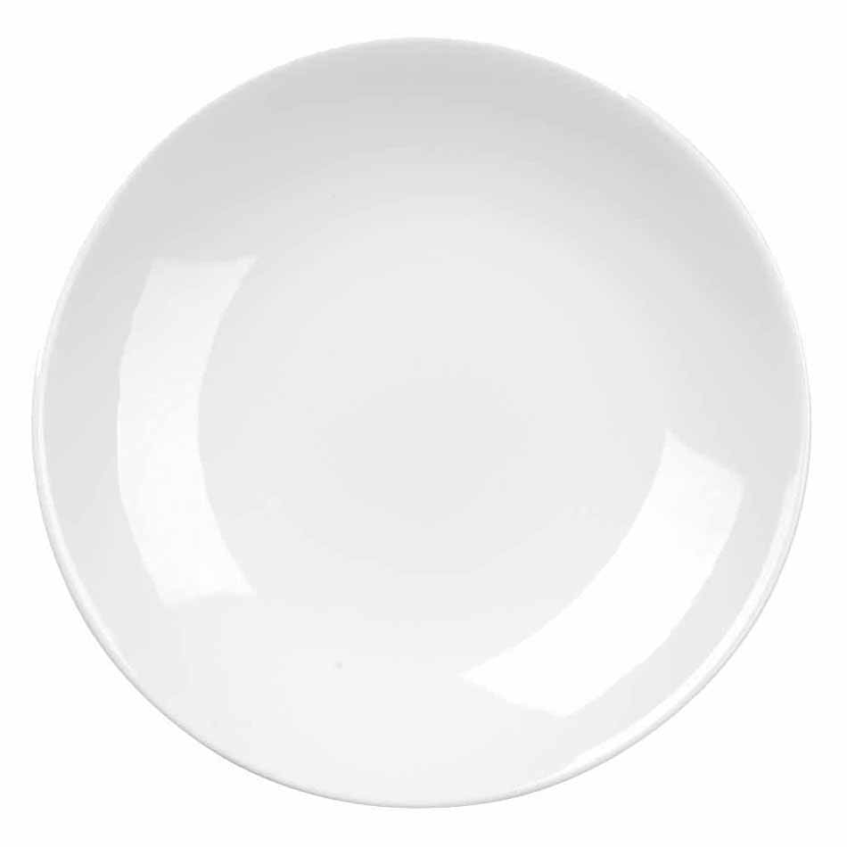 """Churchill APRBAC581 10-5/8"""" Round Alchemy® Balance Plate - China, White"""