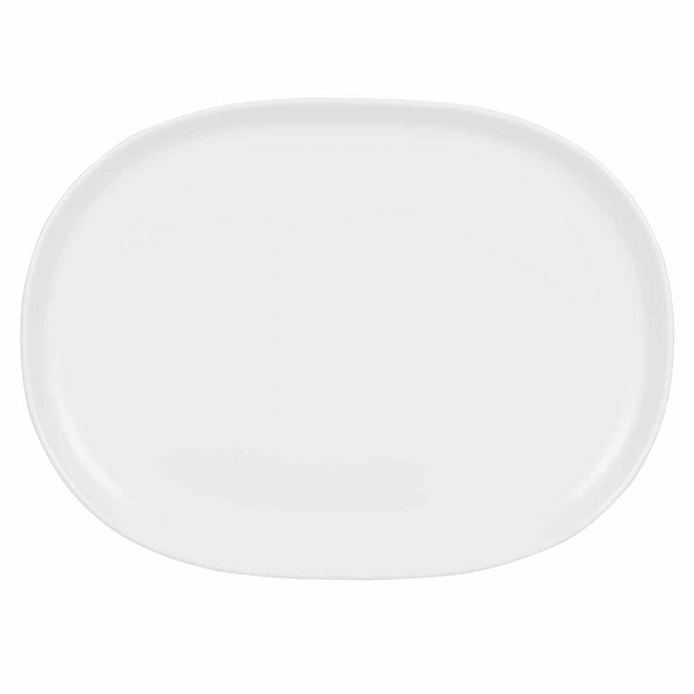 "Churchill APRSMP111 Oval Alchemy® Moonstone Plate - 11.25"" x 8.25"", China, White"