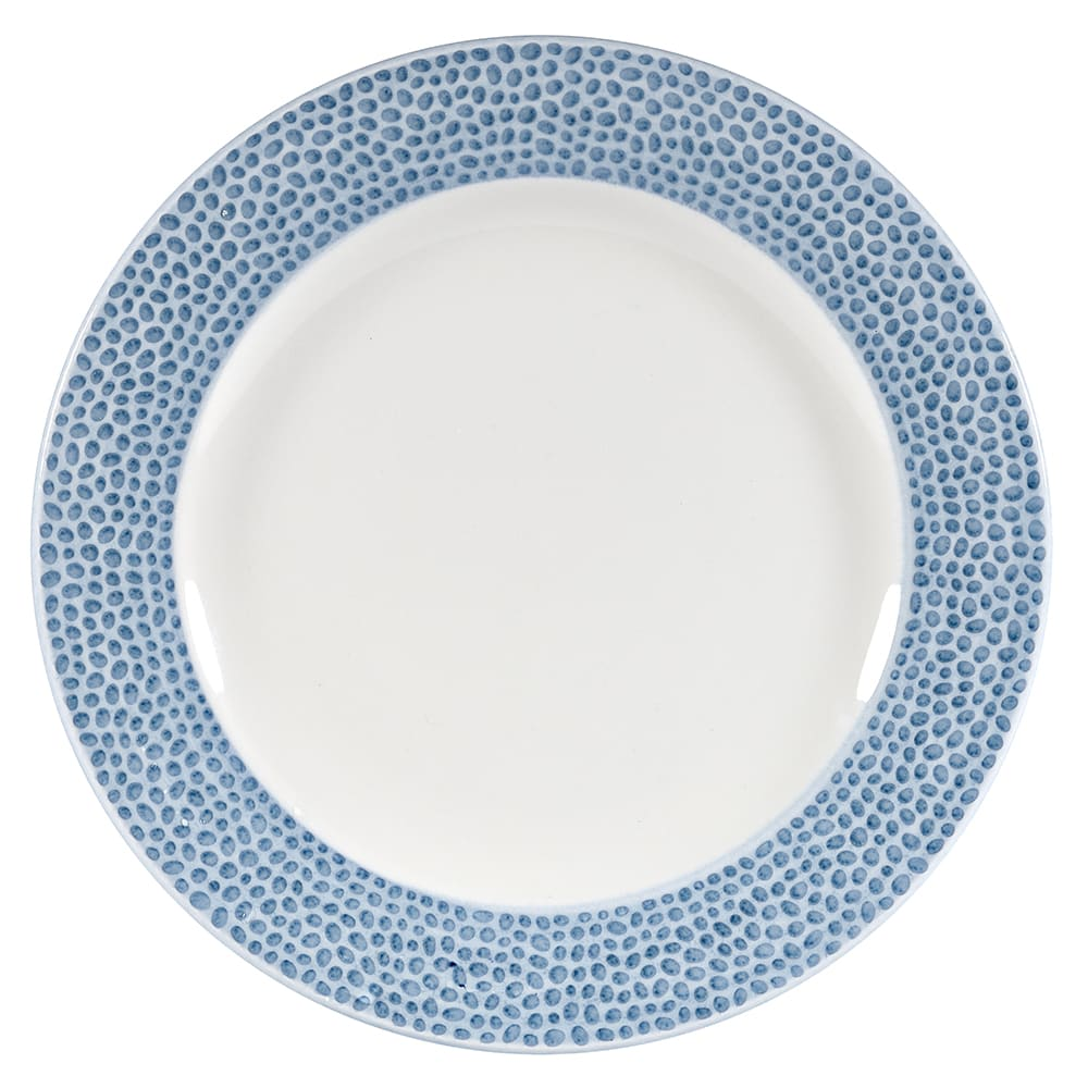 "Churchill OCISIP121 12"" Round Dinner Plate - China, Ocean Blue"
