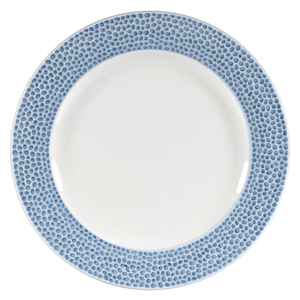 "Churchill OCISIP651 6-5/8"" Round Dinner Plate - China, Ocean Blue"